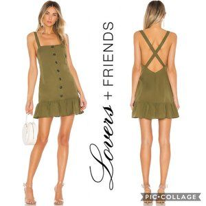 NWT Lovers+Friends Chase Mini Dress